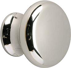 Metafranc Meubelknop Ø 30 mm - verchroomd - hoogwaardige afwerking - mooi vormgegeven & decoratief - incl. montagemateriaa...