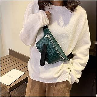 YWSCXMY-AU New Waist Bag Fashion Waterproof Chest Handbag Unisex Fanny Pack Ladies Waist Pack (Color : Green)