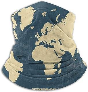 Halsw/ärmer Gamasche Vintage Weltkarte Stirnband Schal Sport Kopfbedeckung Gesicht Bandana Multifunktionsbandanas M/änner Frauen