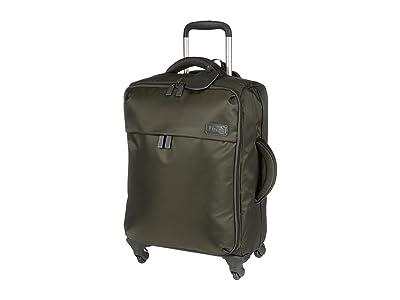 Lipault Paris Original Plume 22 Spinner Carry On (Khaki) Carry on Luggage