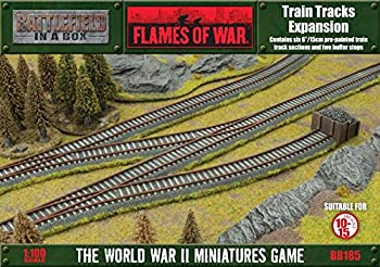 Battlefield in a Box - Train Tracks Expansion - Wargaming - Flames of War