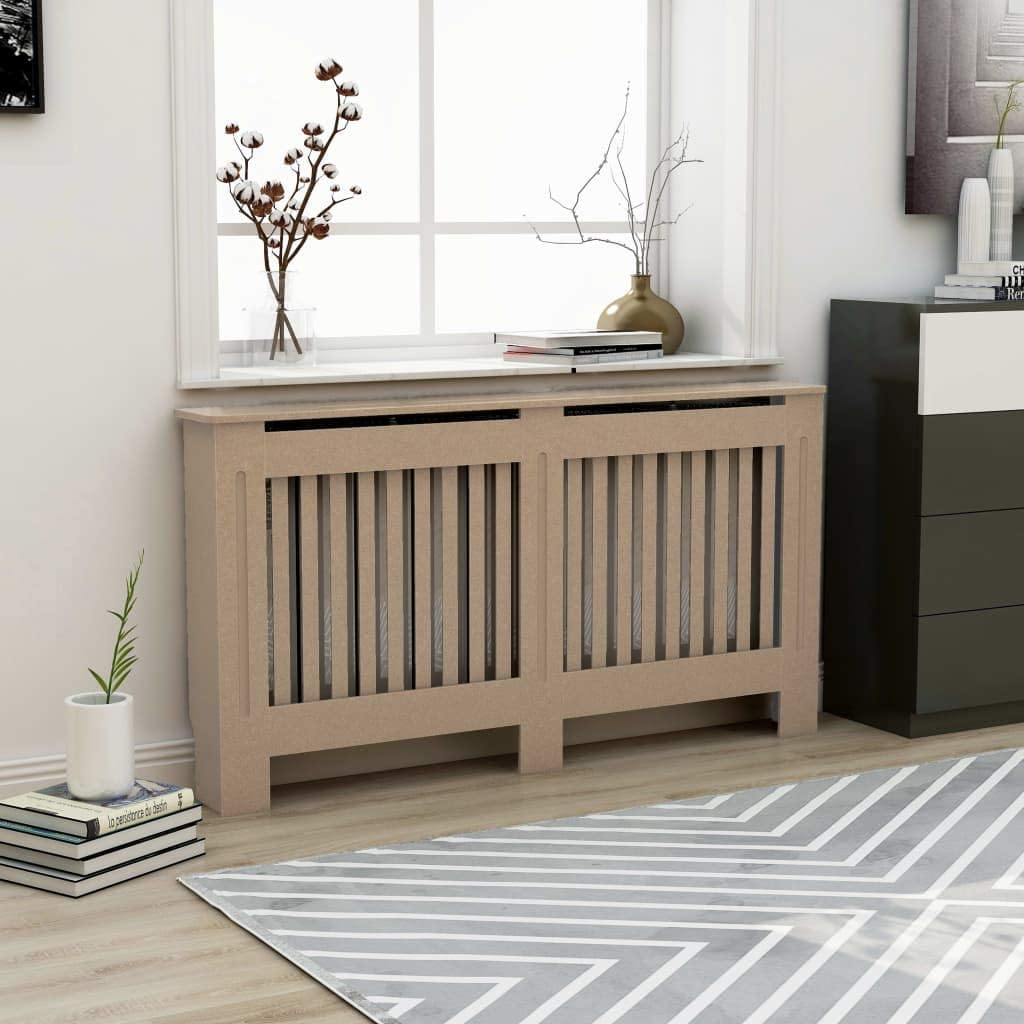 INLIFE Radiator Cover MDF with Water Laqucer Base 値下げ Vertica 完全送料無料 Finish