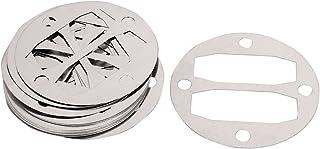 sourcingmap Juntas de Culata Compresor de Aire Redonda de Aluminio Arandelas 20 Piezas