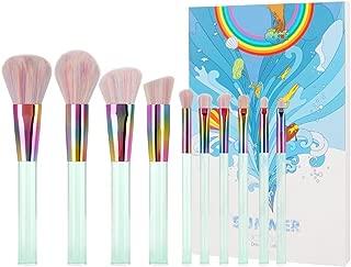 Docolor Makeup Brushes 10 Pcs Professional Makeup Brush Set Premium Synthetic Kabuki Foundation Blending Brush Face Powder Blush Concealers Eye Shadows Make Up Brushes Kit