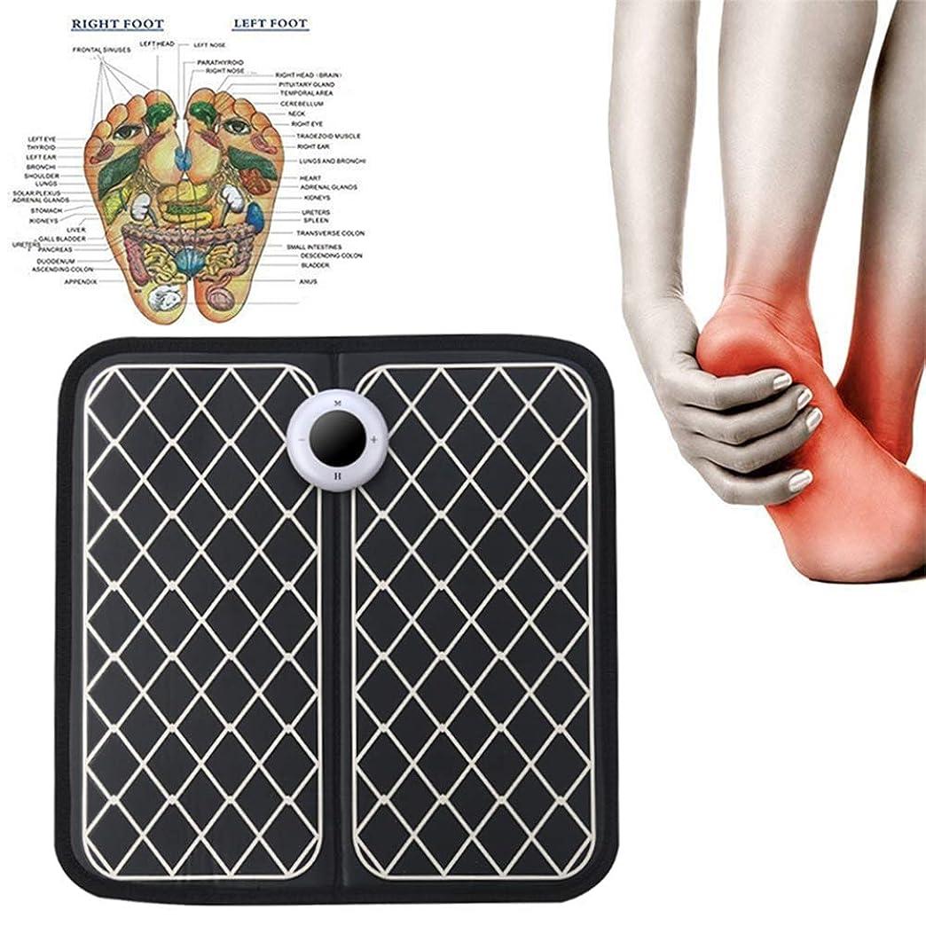 。精神アパルEMSフットマッサージャー、携帯用電気マッサージマット、フット?ブースト?循環&救済痛む足美脚筋肉のための電子筋肉Stimulatior足のマッサージ