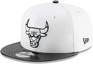 New Era Chicago Bulls Retro Hook Black/White Adjustable Snapback Hat