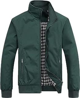 Men's Casual Jacket Outdoor Windbreaker Lightweight Bomber Jackets