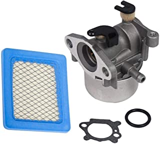Replace Carburetor with Air Filter for Briggs & Stratton 790845 799871 799866 796707 794304 Engine 4 Cycle Lawn Mower