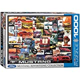 EuroGraphics Ford Mustang Vintage Ads Jigsaw Puzzle (1000 Piece) (6000-0748)
