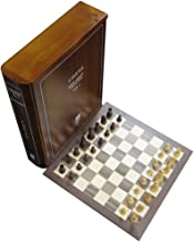 Wood Book Case Classic Board Game Set Collection, Volume 1 of 12, Chess