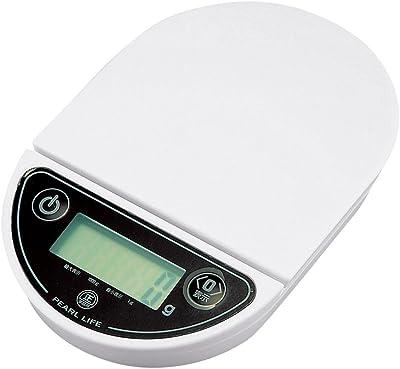 パール金属 デジタル キッチン スケール 1kg 用 オーバルミー D-10