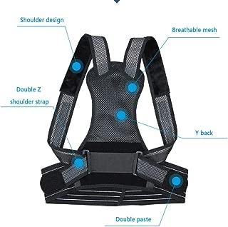 nero YUANDUDU Beidai Open Strap Adult Unisex semplice forma creativa anti-gobba postura con cinturino aperto