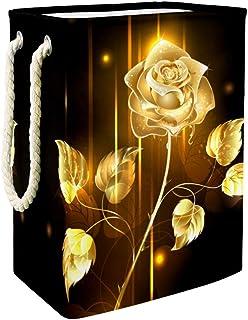 Vockgeng Conteneurs de Stockage Rose dorée Panier de Rangement imperméable Pliable de Jouets de Jouets de Panier avec des ...