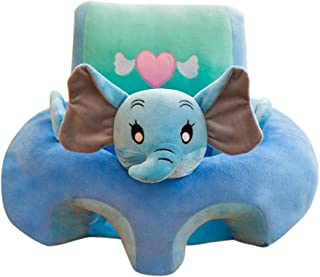 Taoytou Cute Baby Learning Sit Seat Sofa Cover Chair Case Liner  Elephant