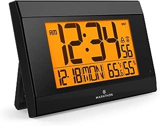 Best illuminated digital atomic wall clock Reviews