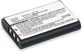 estación de carga 2 baterías para Pentax Optio s5z red cargador