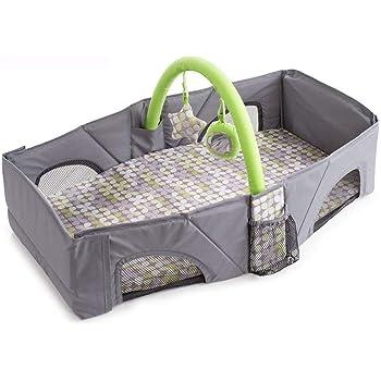 DEWELベビーベッド 折り畳み ベッドインベッド 添い寝ベッド 収納便利 長さ80CM 1-3日間ぐらいお届け( 0~12ヶ月の赤ちゃんに対応)