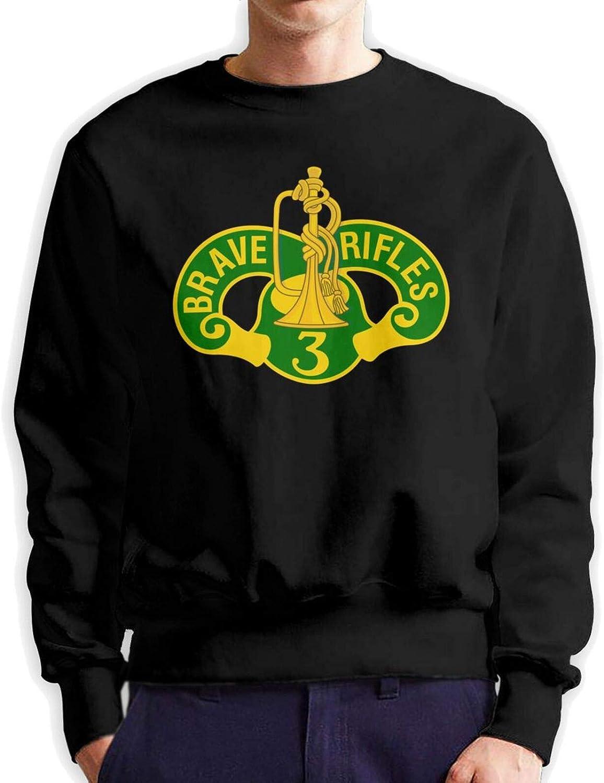 Wozinber 3rd Cavalry Regiment Brave Comfortable Sweatshir Rifles Popular New sales brand