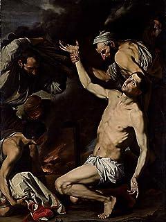 Berkin Arts Caravaggio Giclee Lienzo Impresión Pintura póster Reproducción Print(Jusepe De Ribera Martirio De San Lorenzo) #XFB