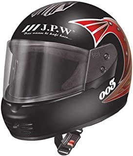 J.P.W Street Pin Stripe HES16011 Full Face Helmet.