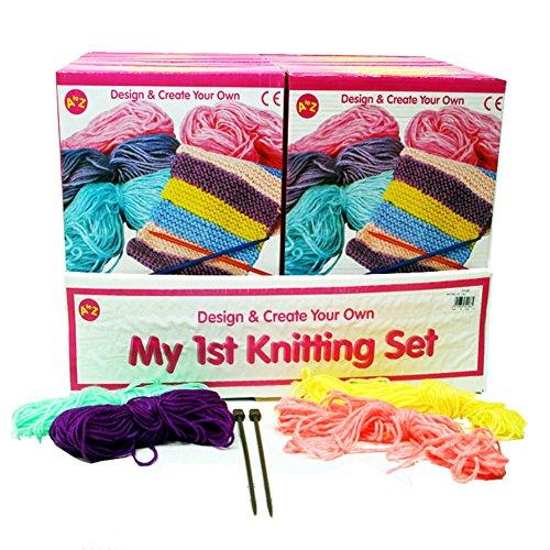 PBros My Frist Knitting set Kit tricot débutant pour enfant