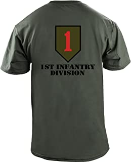 Army 1st Infantry Division Full Color Veteran T-Shirt