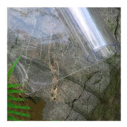 AMDHZ Protector Mesa Tablero De Cristal De PVC Almohadilla De Plástico Transparente 1.5 Mm Alfombrilla De Escritorio para Ordenador Mantel Transparente (Color : 1.5mm, Size : 60X100CM)