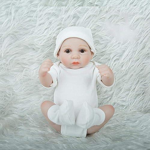 Hongge Reborn   Doll,Réaliste Reborn Bébé Nouveau-né Poupée Jouet Cadeau 28cm
