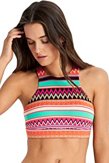 Seafolly Women's Island Vibe High Neck Tank Top