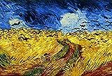 CloudShang Van Gogh Salon de Decoracion Pintura Campo Pintura Girasol Campo Terraza Noche Van Gogh Pared Arte Impresiones Realismo Estilo Cuadro Famosos Salon Oficina Famosos Café Terraza En F19184