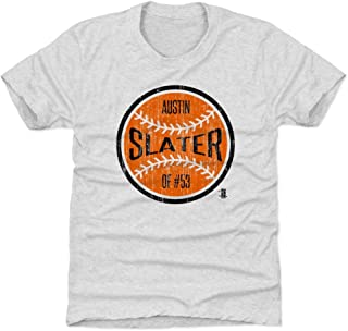 500 LEVEL Austin Slater San Francisco Baseball Kids Shirt - Austin Slater San Francisco Ball