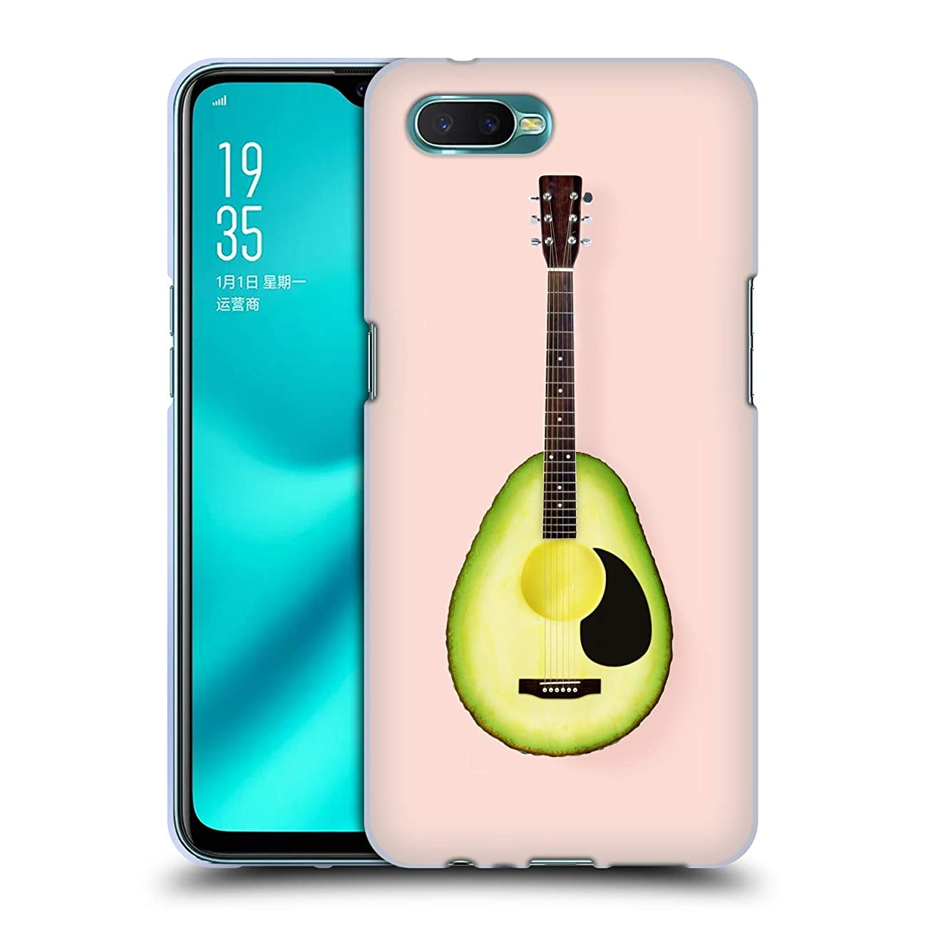 Official Paul Fuentes Avocado Guitar Pastels Soft Gel Case for Oppo R15x