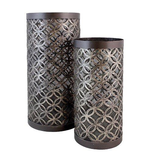 Import Collection TIC 30-992 Peltier Lantern, Set of 2