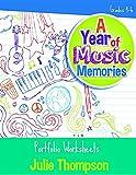 A Year of Music Memories: Portfolio Worksheets