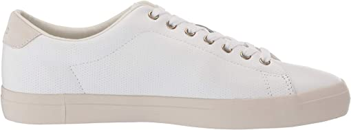 White Perf Nappa Smooth Calf