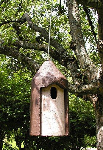 Schwegler Naturschutzprodukt Nisthöhle Typ 2M Vogelhöhle freihängend FO Flugloch 29 x 55 mm Satz 2 Stück