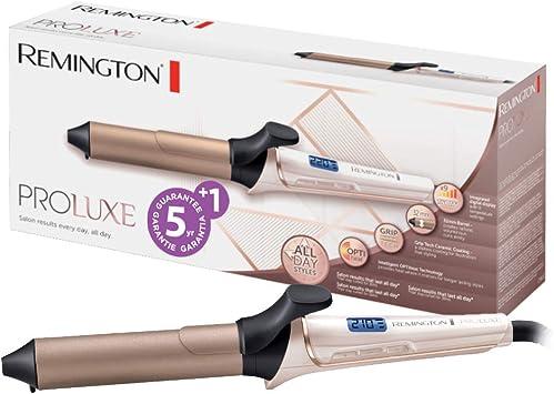 Oferta amazon: Remington Proluxe CI9132 - Rizador de Pelo, Cerámica y Revestimiento GripTech, Pinza de Pelo de 32 mm, Rosa