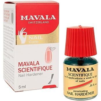Mavala Scientifique Original Nail Hardener | Strengthens Nails, Hardens Nail Tips, Stops Breakage | 0.16 oz