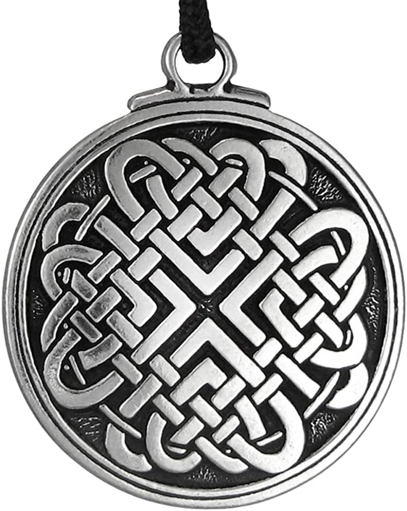Pewter Celtic Love Our shop OFFers the best service Knot Woven Heart Pendant 1.5 Inch - Max 86% OFF Diameter
