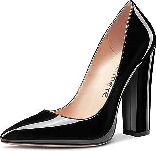 Castamere Scarpe col Tacco Donna Punta Appuntito Tacco a Blocco Alto 12CM High Heels