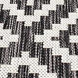 carpet city Outdoor-Teppich Wetterfest Balkon Terrasse Modern Geometrisches Muster in Anthrazit; Größe: 160x230 cm - 2