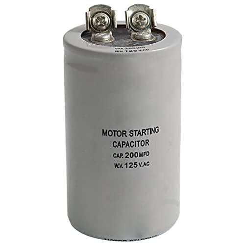 -189-227 MFD//UF-110-125V-Motors//Compressors//AC//ect.Smart Elec. Start Capacitor 1