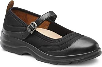 Dr. Comfort Women's Flute Lycra Stretchable Diabetic Mary Jane Shoes