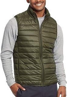 ToBeInStyle Men's Lightweight Layering Puffer Vest