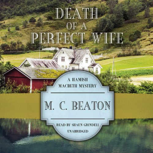 Death of a Perfect Wife audiobook cover art