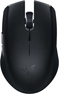 Razer Atheris - Ambidextrous Bluetooth Wireless Portable Gaming-Grade Mouse - 7,200 DPI Optical Sensor