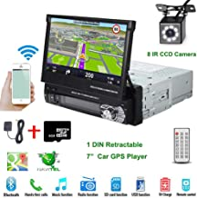 """Car Stereo in-Dash Single DIN 7"""" HD Touch Digital Screen Head Unit Support Bluetooth.."""