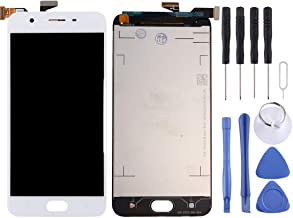 CHENCHUAN LCD Screen LCD Screen and Digitizer Full Assembly for OPPO A57(Black) Display Replacement for Oppo (Color : White)