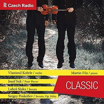 Violin Chamber Music: Vlastimil Kobrle, Martin Fila