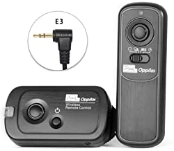 Pixel 2.4GHz Digital Wireless Remote Shutter Release E3 for Canon, Pentax, Samsung, Contax, Sigma and Hassleblad Cameras, Replaces Canon RS-60E3